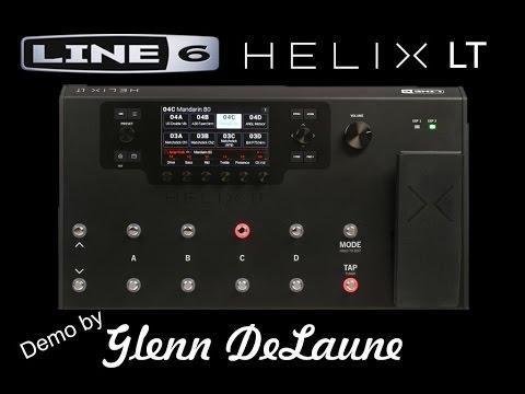 line 6 helix lt demo by glenn delaune youtube. Black Bedroom Furniture Sets. Home Design Ideas
