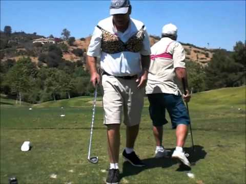 Pros Fore Charity Golf Entertainment -- Break the Glass Challenge