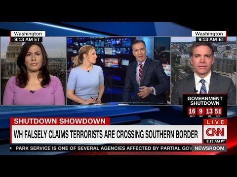 "Media blame ""both sides"" for Trump's government shutdown"
