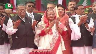Seikh Hasina At Barishal Bangabandhu Uddan  Joydev  08Feb18