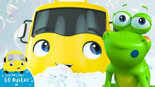 Buster's Bubble Bath - Go Buster the Yellow Bus | Nursery Rhymes & Cartoons | LBB Kids