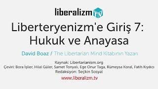 Liberteryenizm'e Giriş 7: Hukuk ve Anayasa