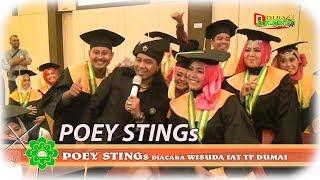 Terbaru 2018 :Kedekatan POEY STINGs  dengan Sahabat IAI TF Dumai-diacara Wisuda