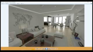 TUTORIAL RECORRIDO 3D EN SKETCHUP Y V-RAY, VIDEO