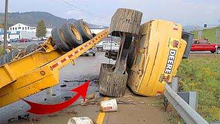 TOP 10 Extreme Crązy Excavator Fails/ Dangerous Construction Demolitions With Excavator