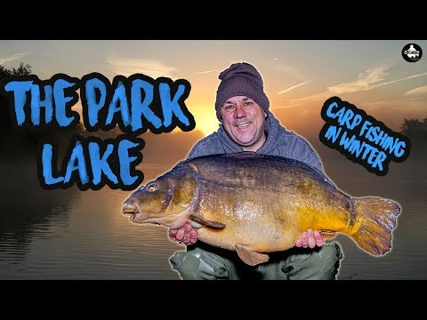 Carp Fishing In Winter 2018 - Fishing The Park Lake - Vlog #2 😀