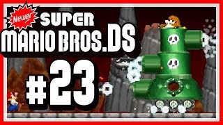 NEWER SUPER MARIO BROS. DS # 23 🍁 Zugabe in Koopa Country! [HD60]