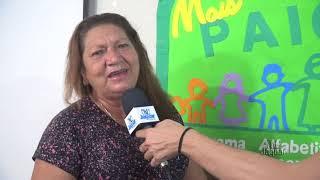 Giselia Bezerra, representou o Secretário Alessio Costa, enaltecendo os grandiosos passos que a educ