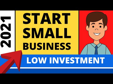 How to Start a Small Business With Low Investment?