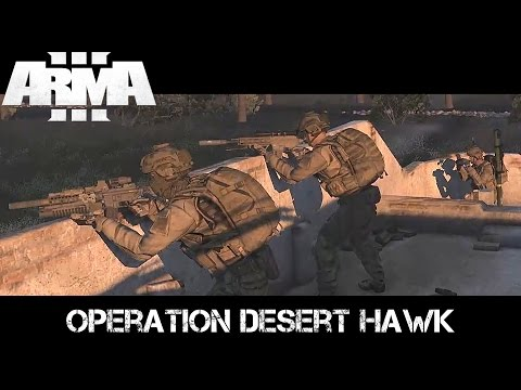 Operation Desert Hawk - ArmA 3 Delta Force Gameplay