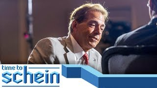 Nick Saban at SEC Media Days 2019 and College Football Expectations | Time to Schein
