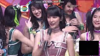 JKT48 - Beby Ngerap Lagu HBD Indosiar Ke 24