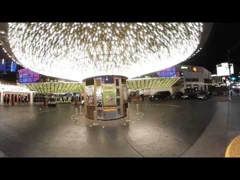 Samsung Gear 360 - Las Vegas - The Plaza Hotel & Casino ( Fremont Street in Las Vegas, Nevada)