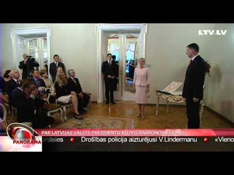 Par Latvijas Valsts prezidentu kļuvis Raimonds Vējonis