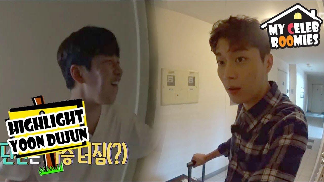 My Celeb Roomies Yoon Dujun The Last Guest Dujun