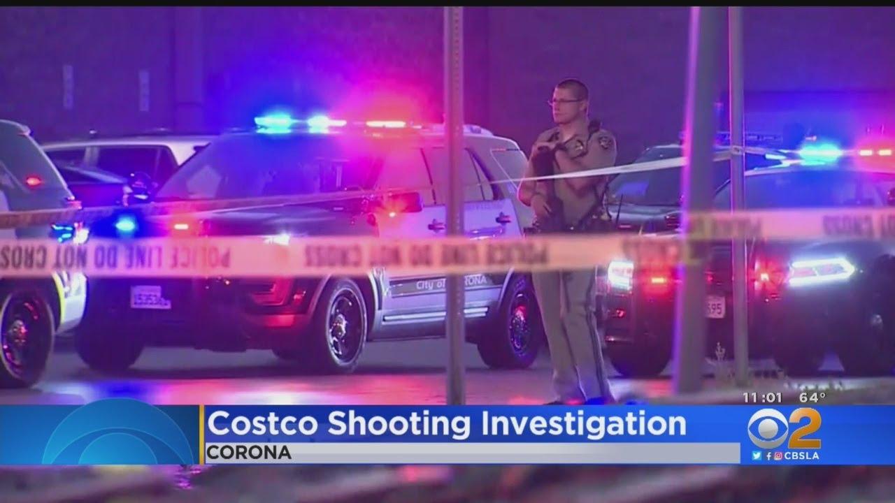 shooting investigation at costco corona