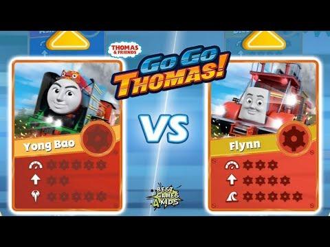 Thomas & Friends: Go Go Thomas 2.0 |  NEW ENGINES, MORE RACING: YONG BAO Vs FLYNN By Budge
