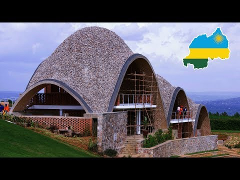 So crazy!! First Africa cricket stadium in Rwanda: Architecture Earth Vault technology in Rwanda