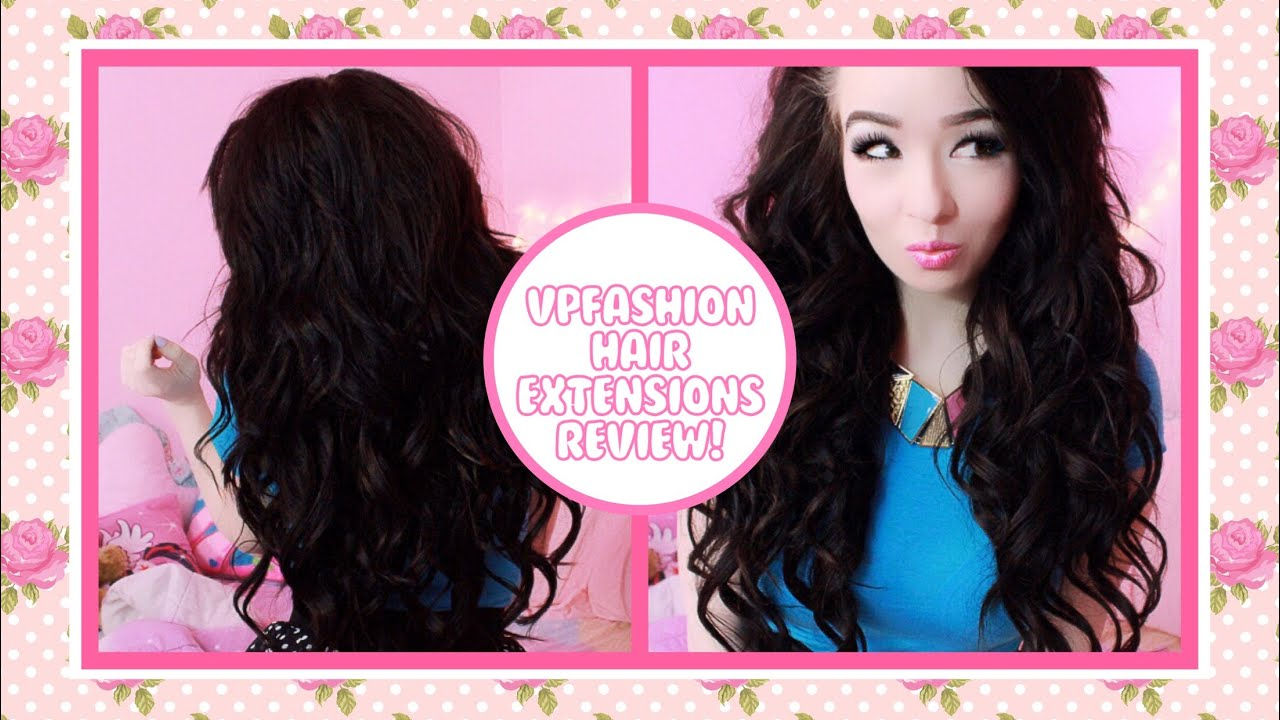 Vpfashion Hair Extension Review Youtube