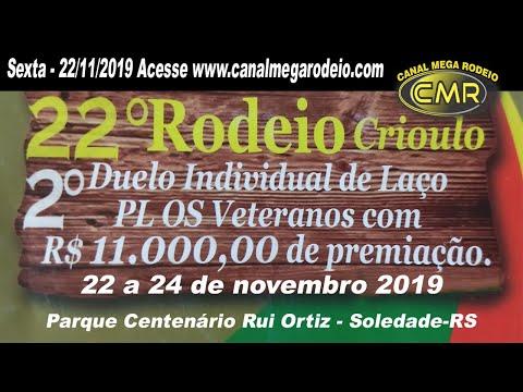 22º Rodeio Crioulo do Piquete Os Veteranos - 22 de novembro 2019-Soledade-RS