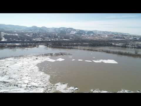 Glendive Yellowstone River Flooding