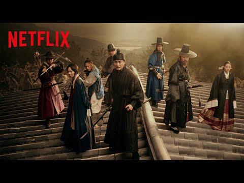 킹덤 시즌 2   '고립무원' 모션아트   Netflix