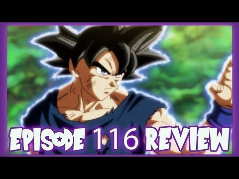 DRAGON BALL SUPER EPISODE 116 REVIEW! THE SIGN OF A COMEBACK! ULTRA INSTINCT'S HUGE EXPLOSION!!