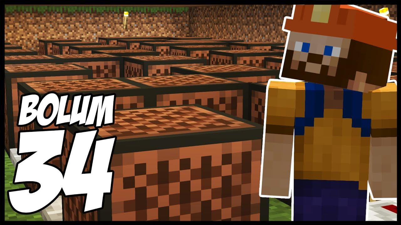 DAYIMIZIN GÜZEL HEDİYESİ!   Minecraft: Modsuz Survival   S5 Bölüm 34