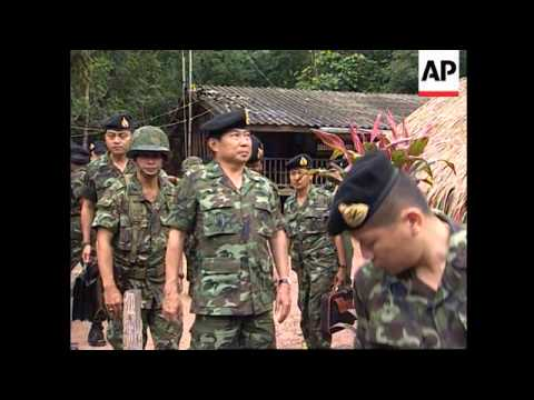 Thailand - General Thanajaro inspects troops