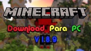 Download De Minecraft 1.8.9 PC! (Pirata)