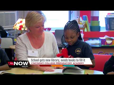 School gets new library, needs books