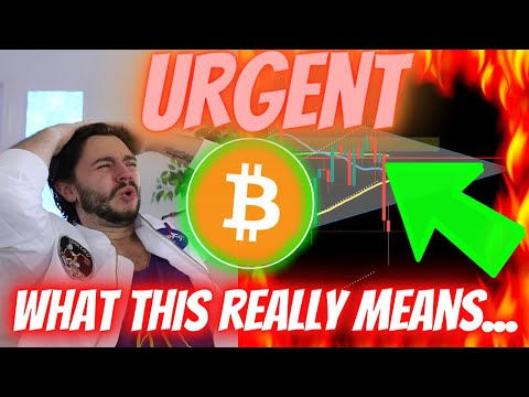 WHY THIS IS MORE INSANE FOR BITCOIN THAN ANYONE REALIZES! (once per cycle event) EVERYTHING CHANGES!
