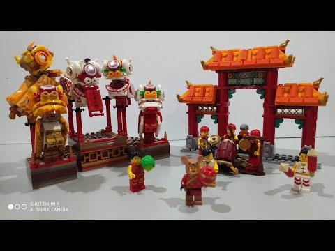 Fast Build: 80104 LEGO CNY Lion Dance
