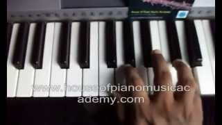 How to play amma amma song from movie VIP in keyboard with music notes in description