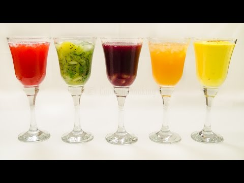 5 Drinks And Mocktails Recipe   Five Easy Refreshing Colorful Holi Recipes