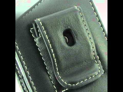 PDair  Leather Case for Acer Allegro M310 - Vertical Pouch Type Belt Clip Included (Black)