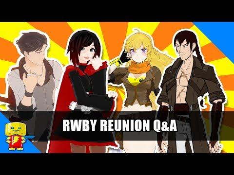 RWBY Q&A with Lindsay Jones, Josh Grelle, Barbara Dunkelman and Vic Mignogna