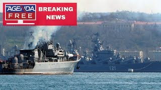 Russia Fires on Ukrainian Ships - LIVE BREAKING NEWS COVERAGE