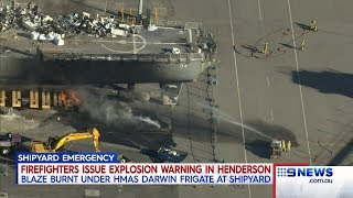 Shipyard Emergency | 9 News Perth