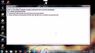 Repeat youtube video How to fix Error