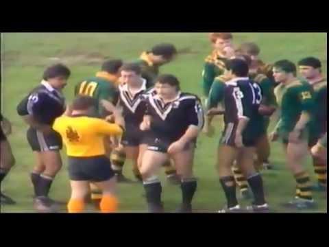 Rugby League: NZ v Aus 3rd Test 1985