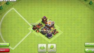 CLASH OF CLANS .Town Hall 10(TH10)Trophy Base.. Donut Base.. 2016