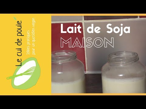 lait-de-soja-maison