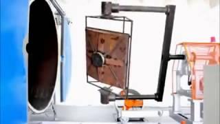 Ротоформовочная машина АРМ2200 Rotomolding machine.LicomPlast manufacturer(, 2013-03-18T22:26:27.000Z)