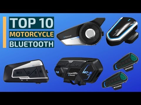 Top 10: Best Motorcycle Bluetooth Headsets In 2019 / Motorcycle Communication Systems (Intercom)