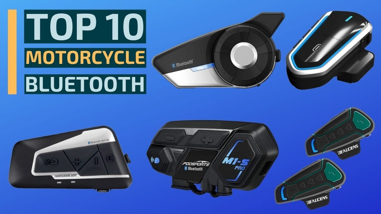 Top 10 Best Motorcycle Bluetooth Headsets In 2019 Motorcycle Communication Systems Intercom Youtube