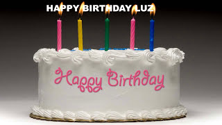 Luz - Cakes Pasteles_1 - Happy Birthday
