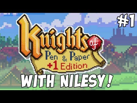 Nilesy Plays Knights Of Pen And Paper! Eat The Egg!