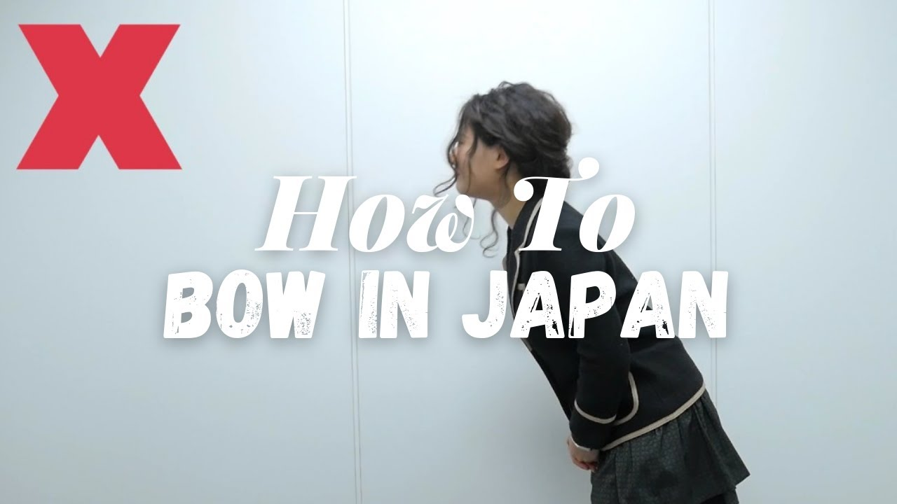 Japanese Bowing Basics Live Japan Youtube