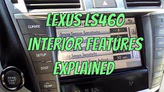 Lexus LS 460 Interior Features Explained